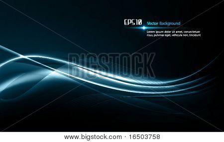 Yumuşak dalgalar | Karanlık tasarım şablonu erkeksi tasarımlar için | EPS10 Vektör arka plan