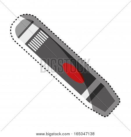 glucometer medicine technology icon vector illustration graphic design