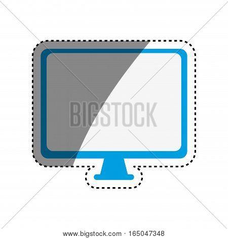Modern tv technology icon vector illustration graphic design