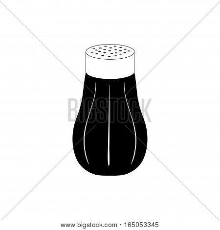isolated salt shaker icon vector illustration graphic design