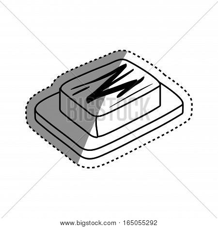 cheese dairy food icon vector illustration graphic design