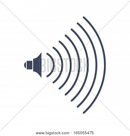 Volume Music Sign Audio Icon. Symbol For Sound Level