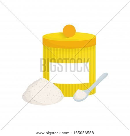 isolated food container icon vector illustration graphic design
