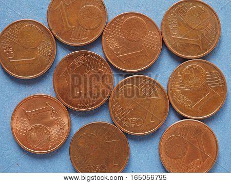 1 Cent Coin, European Union Background