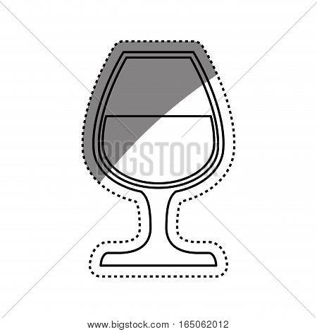 Cup of wine icon vector illustration graphic design