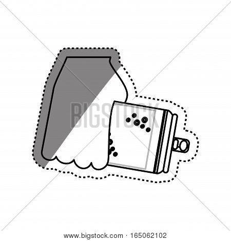 Delicious and fresh soda icon vector illustration graphic design