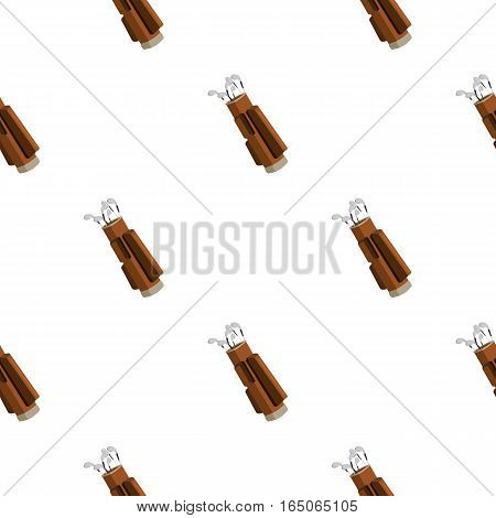 Golf icon cartoon. Single sport icon from the big fitness, healthy, workout cartoon. - stock vector