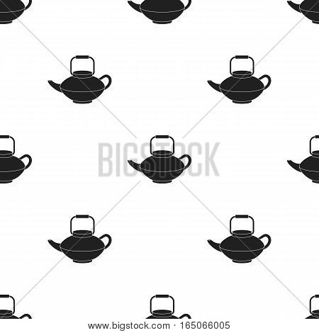 Tetsubin icon in  black style isolated on white background. Sushi pattern vector illustration. - stock vector