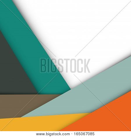 Colorful geometry shapes background icon vector illustration graphic design