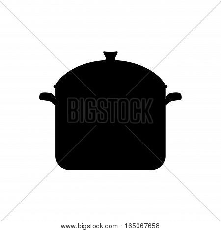 Kitchen saucepan isolated icon vector illustration graphic design