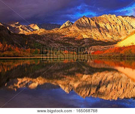 North Lake is a lake neary Bishop California.