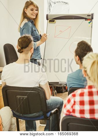 Teacher Teaching Mathematics To College Students
