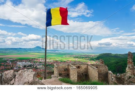 Rasnov Citadel is an important ruin in the Brasov area of Romania.