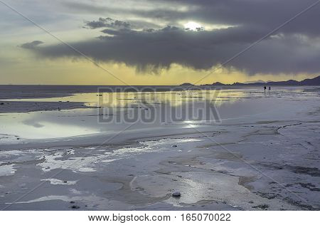 The Salar de Uyuni is the largest salt flat in the world.