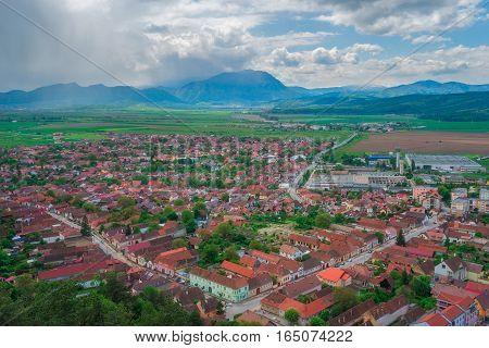 Rasnov Citadel is an important ruin in the Brasov area of Romania.
