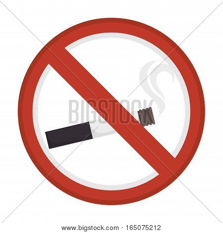 dont smoke sign icon vector illustration design