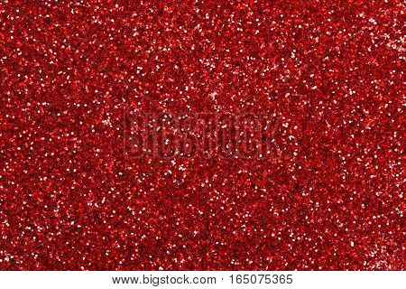 Red glitter texture used for christmas background