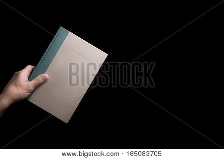 Book In Male Hand