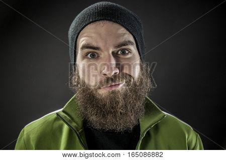 Funny Man With A Beard