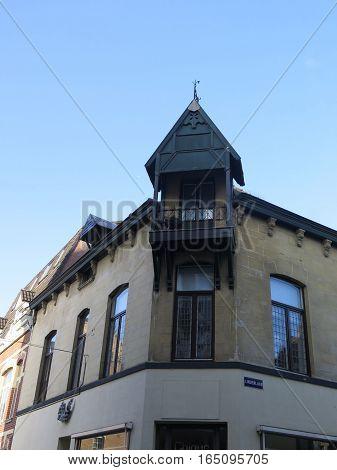 Ornate Dutch Building