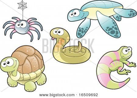 Reptiles and Spider, Family