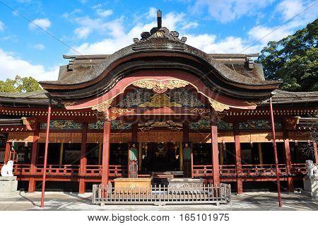 Dazaifu shrine in Fukuoka Prefecture, Kyushu, Japan