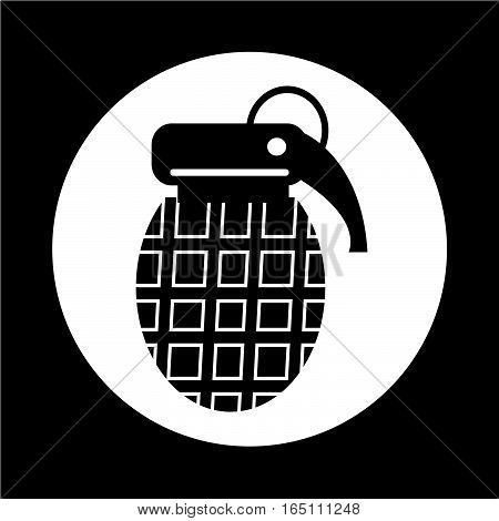 an images of Or pictogram Bomb Icon