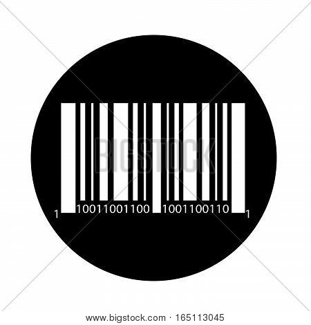 an image pictogram  Bar code icon
