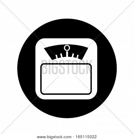 an images of Weight Scale Icon illustration design