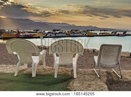 Water sport and recreation facilities in Eilat - number one resort and recreation town at the Red Sea, Israel