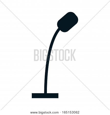 Microphone professional equipment icon vector illustration graphic design