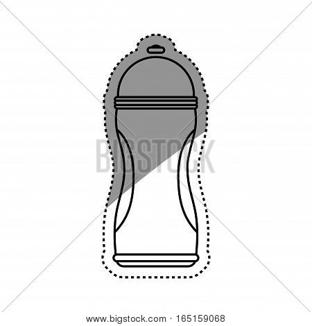 Thermo sport bottle icon vector illustration graphic design