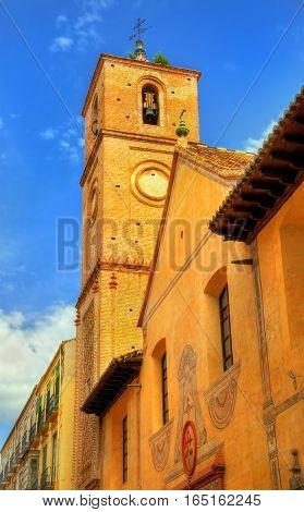 Church of Santiago Apostol in Malaga - Andalusia, Spain