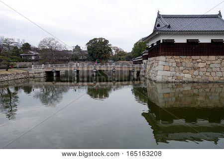 Gate Of Hiroshima Castle