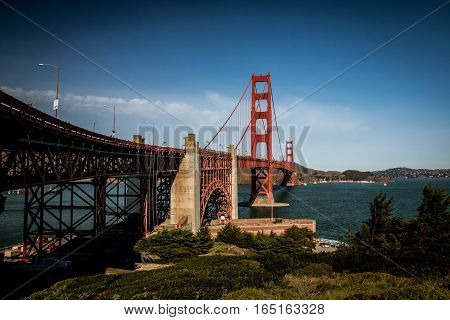 Golden Gate Bridge in San Francisco USA