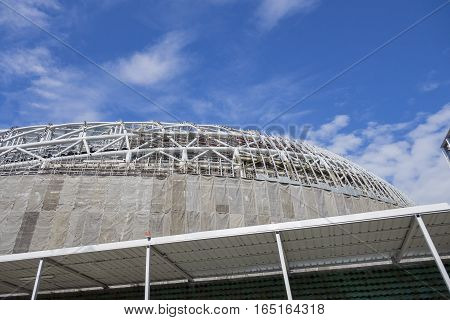 The Under Construction Big Dome