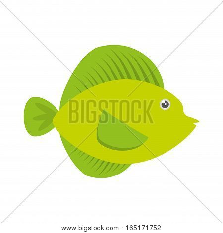 tropical fish sea life vector illustration eps 10