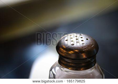 Salt Shaker Close Up