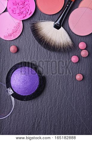 Brush For Make Up And Blush And Eye Shadow