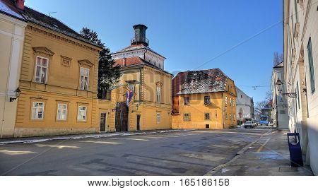 City Of Zagreb Historic Upper Town