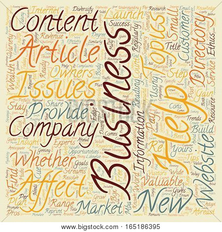 Business Articles Can Help You Grow Your Company text background wordcloud concept