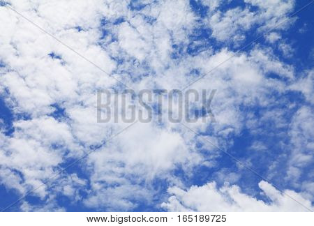 blue sky bright and big cloud beautiful art of nature with copy space for add text