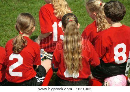 Soccer Team Sidelines