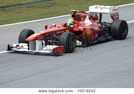 Ferrari Formula One Team: Felipe Massa