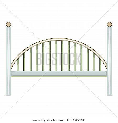 Bridge icon. Cartoon illustration of bridge vector icon for web