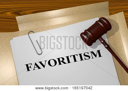 Favoritism - Legal Concept
