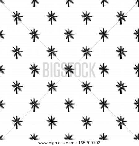 Palm leaf pattern. Simple illustration of palm leaf vector pattern for web