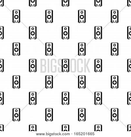 Subwoofer pattern. Simple illustration of subwoofer vector pattern for web