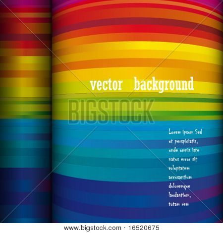 Vector abstract page