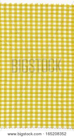 Yellow Fabric - Vertical